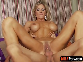 Big Titted Blonde Milf Loves Getting Penetrated By A Massive Black Cock